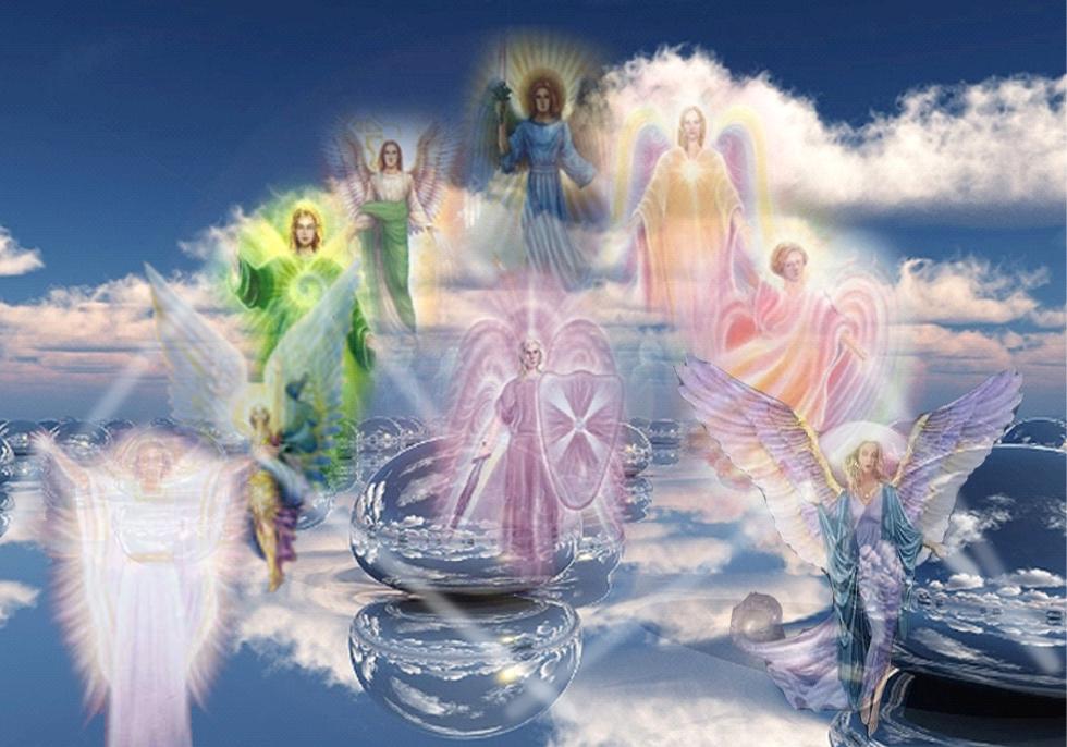 Différents anges
